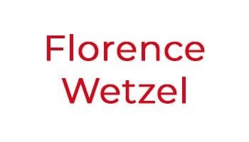 Florence Wetzel, Notarin